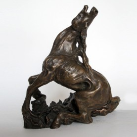 Pferd---Alexia-Carr-Bronze---25-cm